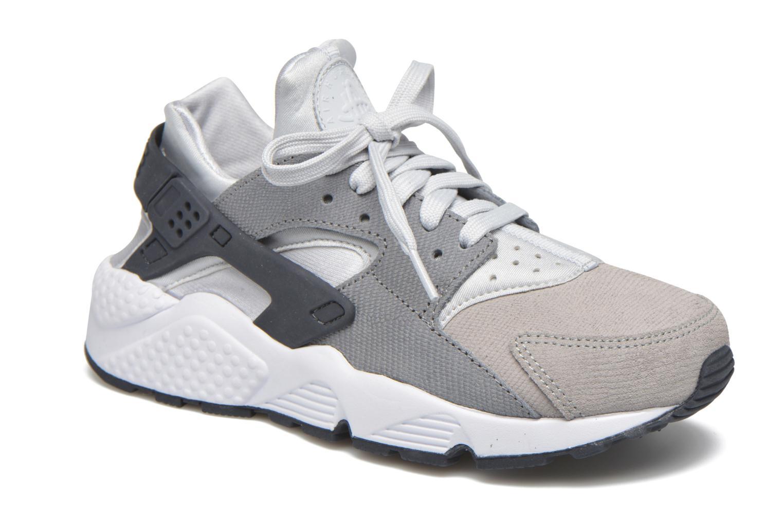 Sneaker Nike Wmns Air Huarache Run Prm grau detaillierte ansicht/modell