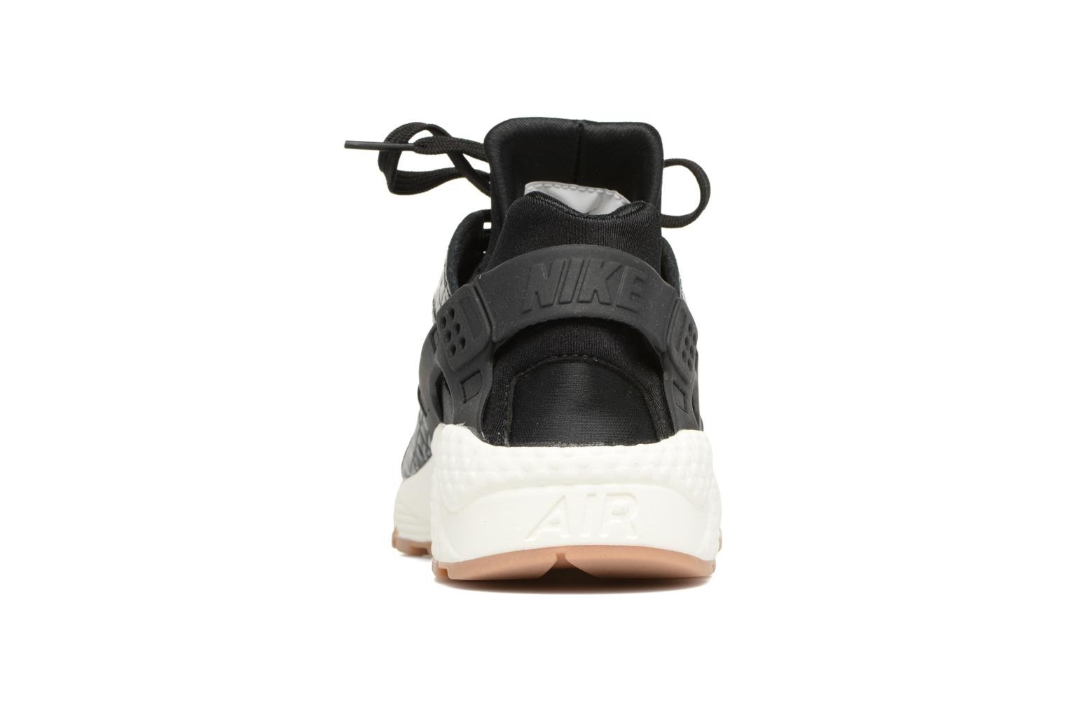 Trainers Nike Wmns Air Huarache Run Prm Black view from the right