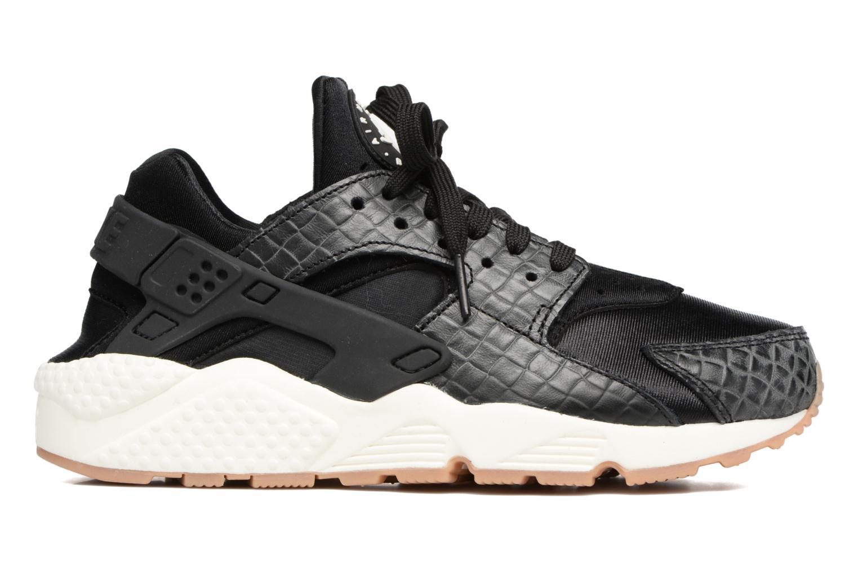 Sneaker Nike Wmns Air Huarache Run Prm schwarz ansicht von hinten