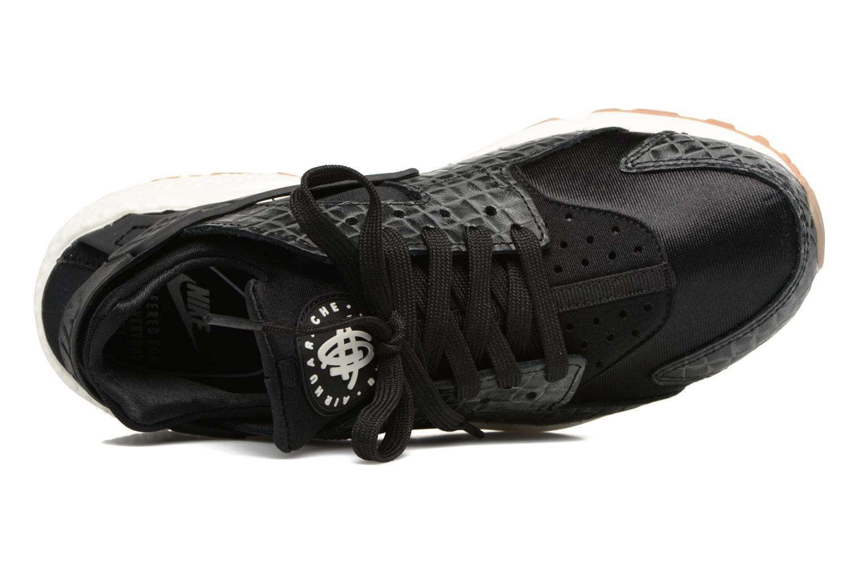 Sneaker Nike Wmns Air Huarache Run Prm schwarz ansicht von links