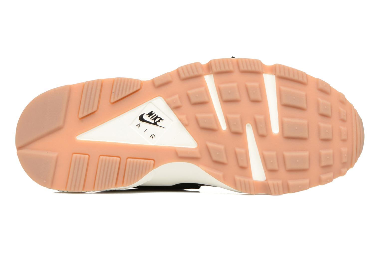 Sneaker Nike Wmns Air Huarache Run Prm schwarz ansicht von oben
