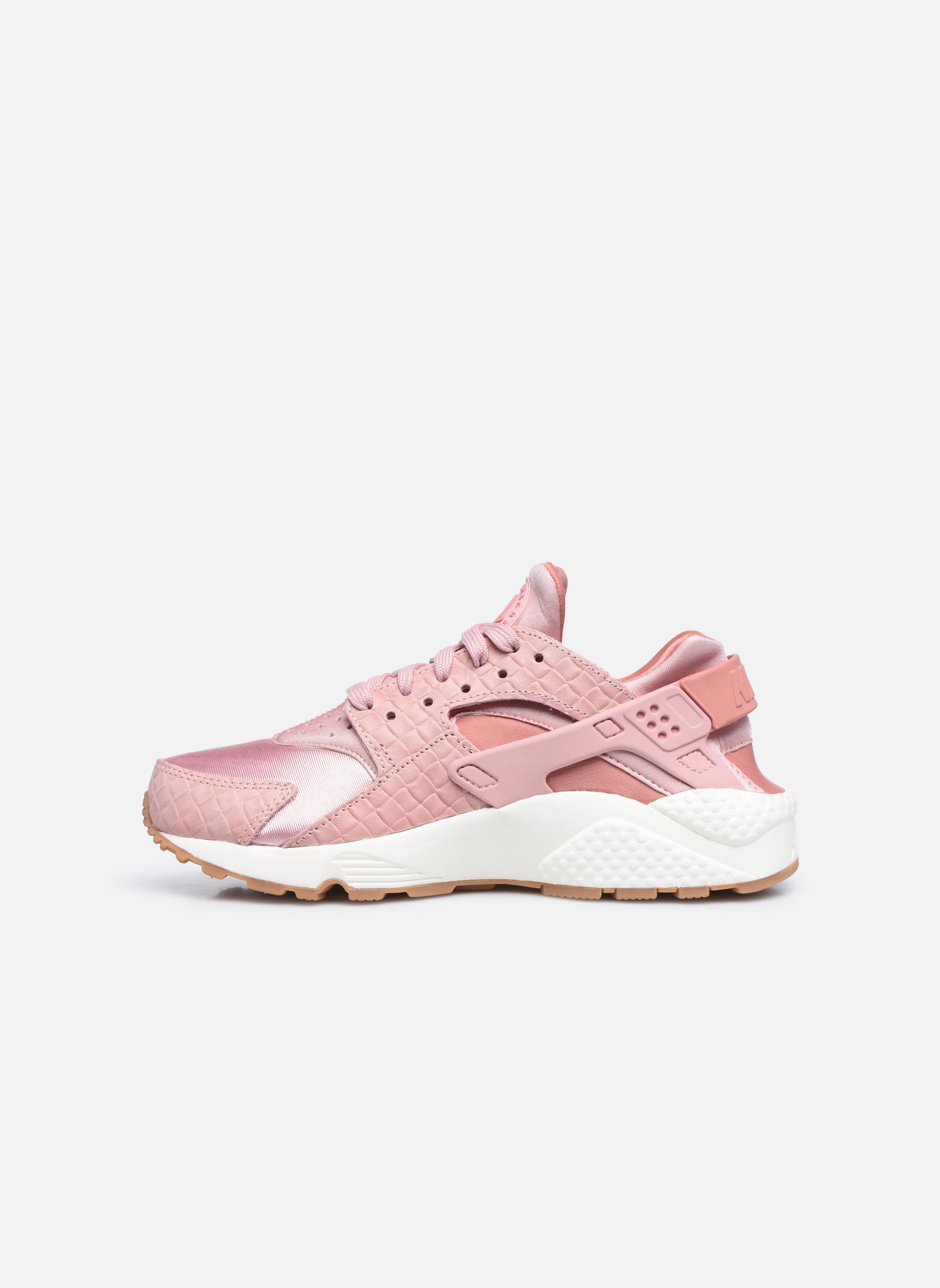 Sneakers Nike Wmns Air Huarache Run Prm Rosa immagine frontale