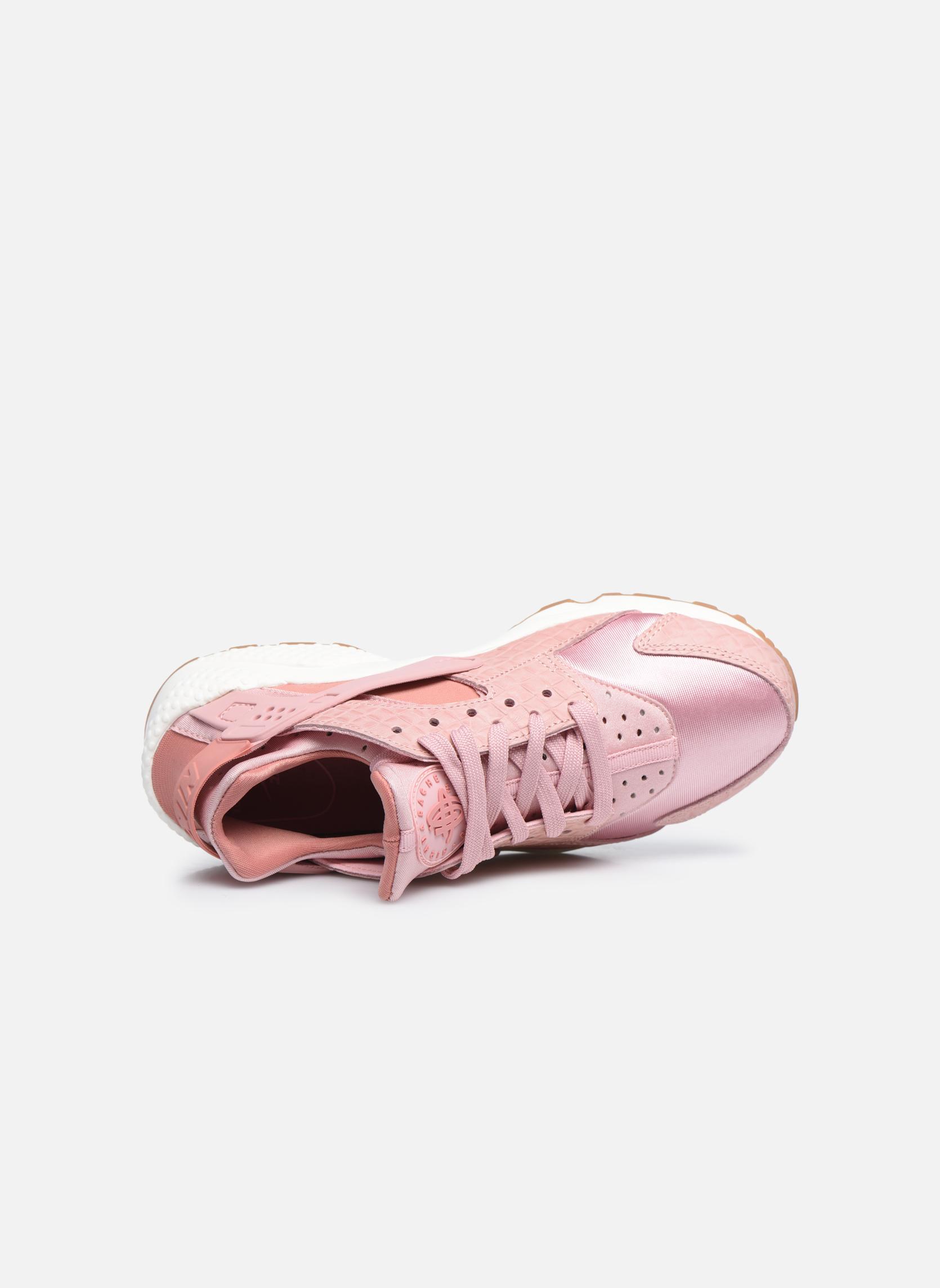 Sneakers Nike Wmns Air Huarache Run Prm Rosa immagine sinistra