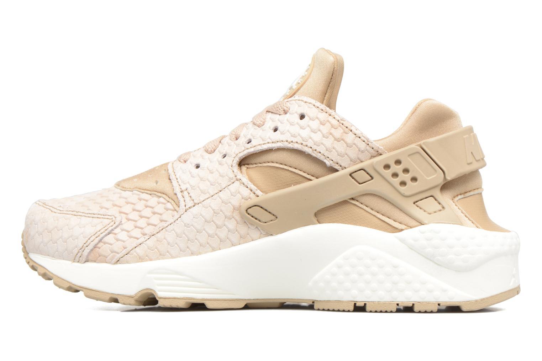 Sneaker Nike Wmns Air Huarache Run Prm beige ansicht von vorne