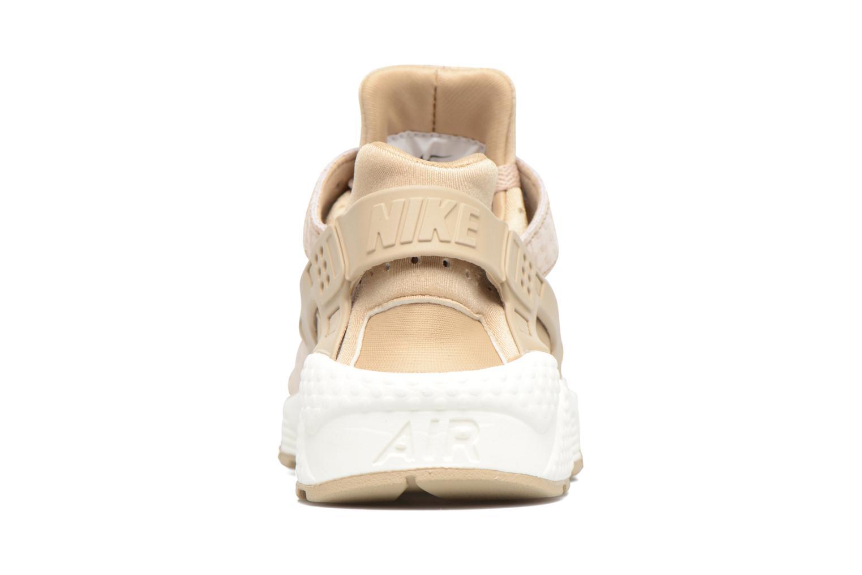 Baskets Nike Wmns Air Huarache Run Prm Beige vue droite