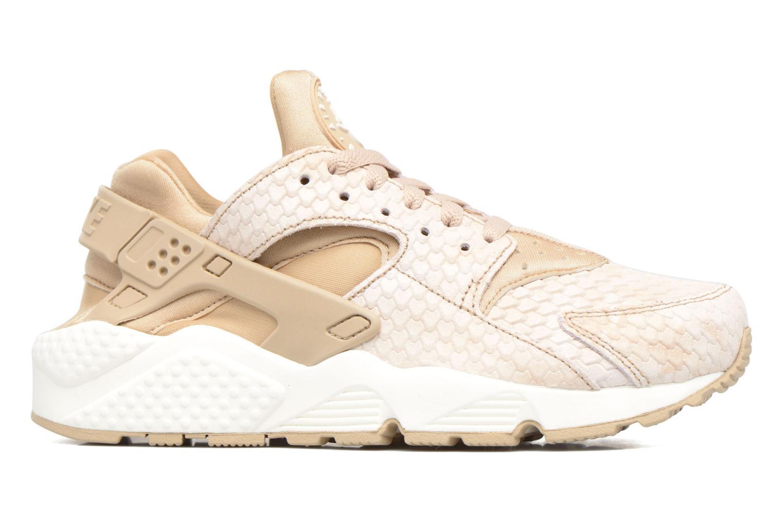 Sneaker Nike Wmns Air Huarache Run Prm beige ansicht von hinten
