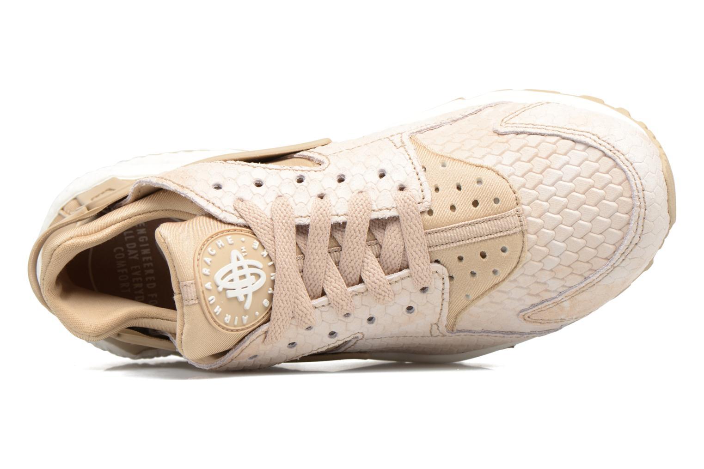 Sneaker Nike Wmns Air Huarache Run Prm beige ansicht von links
