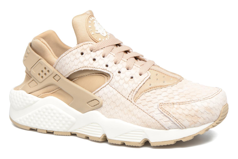 Sneaker Nike Wmns Air Huarache Run Prm beige detaillierte ansicht/modell
