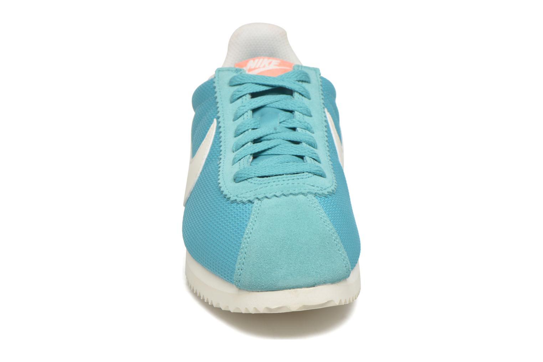 Sneaker Nike Wmns Classic Cortez Txt grün schuhe getragen