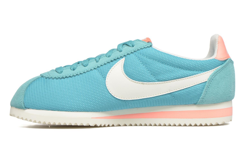 Sneaker Nike Wmns Classic Cortez Txt grün ansicht von vorne