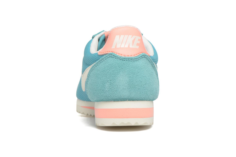 Sneaker Nike Wmns Classic Cortez Txt grün ansicht von rechts