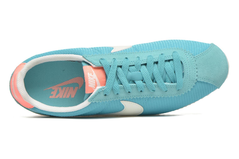 Sneaker Nike Wmns Classic Cortez Txt grün ansicht von links