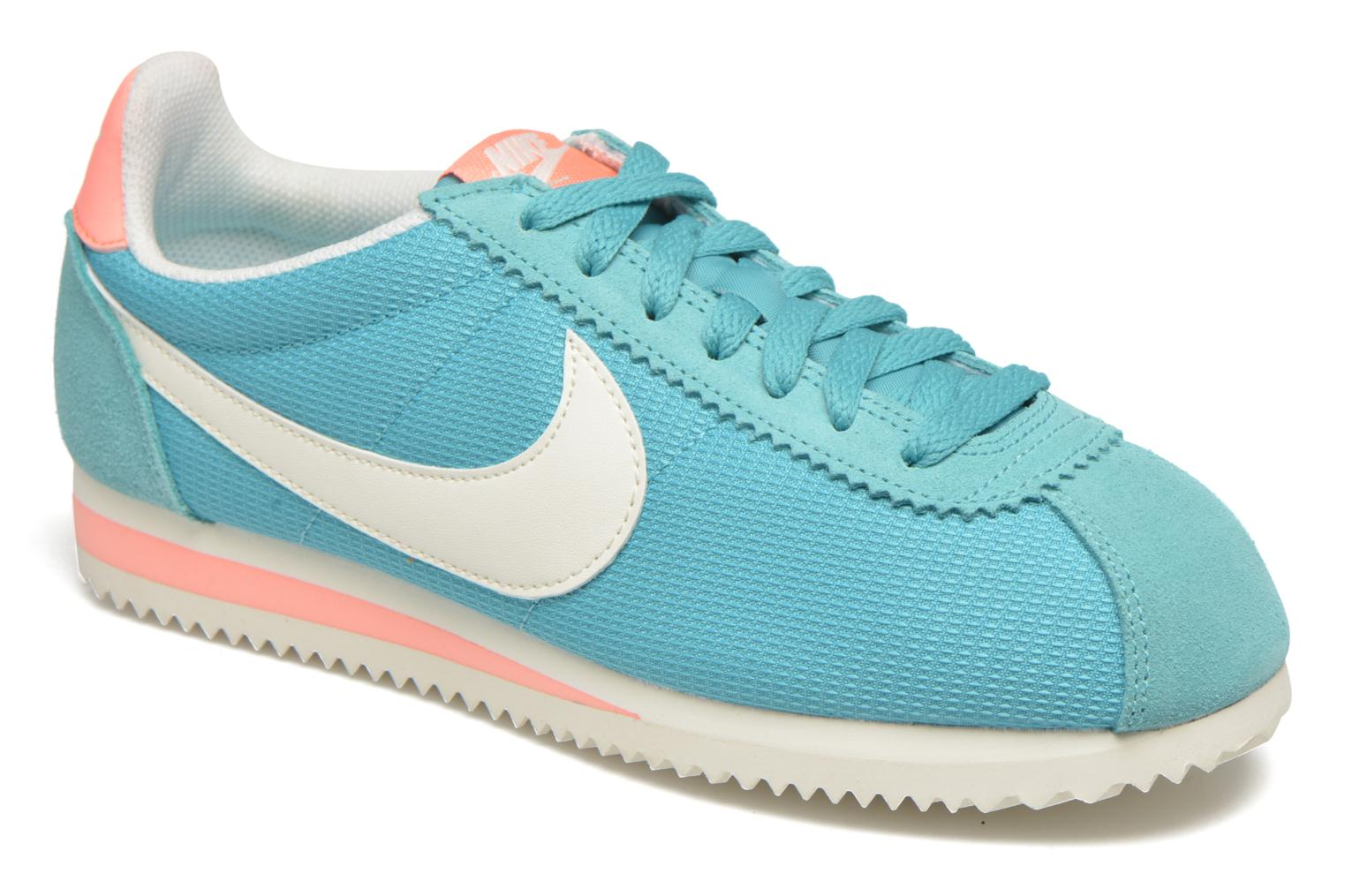 Trainers Nike Wmns Classic Cortez Txt Green detailed view/ Pair view