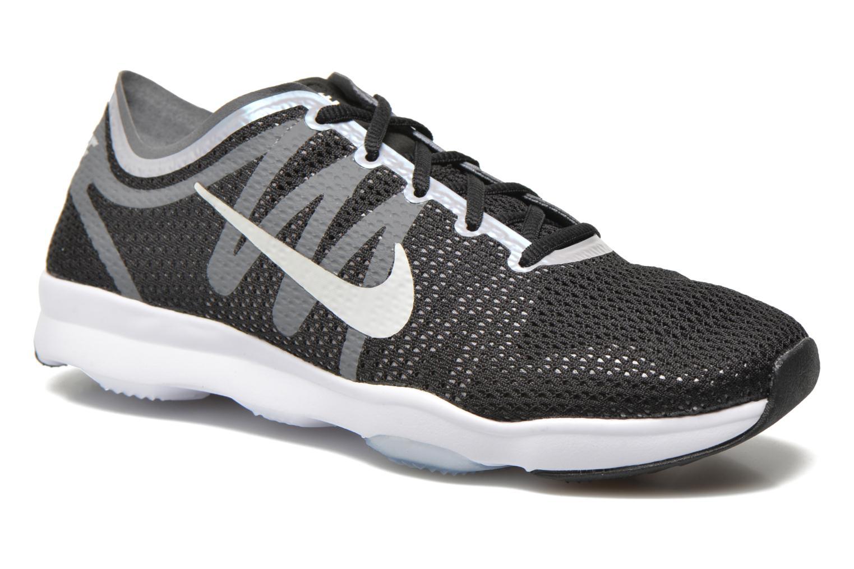 Wmns Nike Air Zoom Fit 2 Black/White-Dark Grey-Wlf Grey
