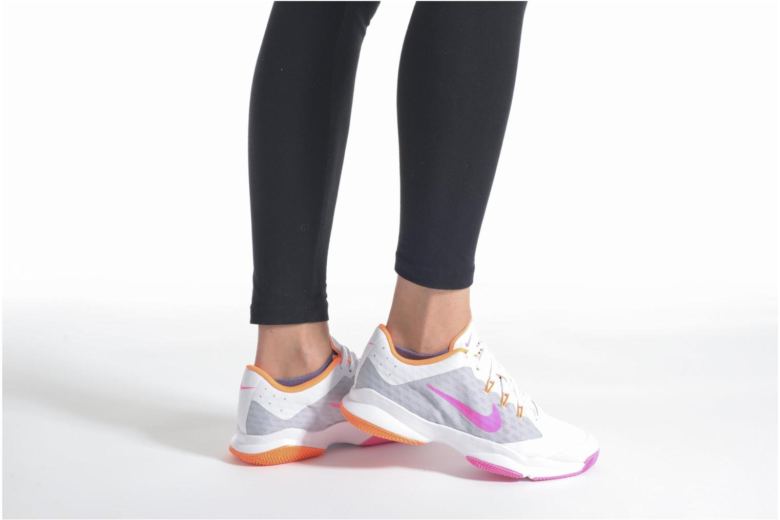 Sport shoes Nike Wmns Nike Air Zoom Ultra White view from underneath / model view