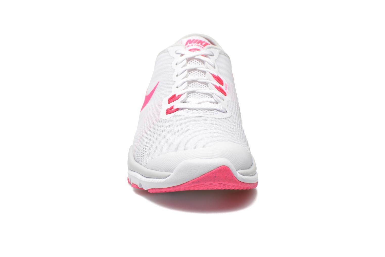 Chaussures de sport Nike Wmns Nike Flex Supreme Tr 4 Blanc vue portées chaussures