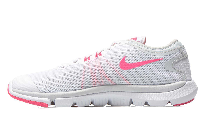 Chaussures de sport Nike Wmns Nike Flex Supreme Tr 4 Blanc vue face