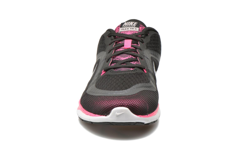 Wmns Nike Flex Trainer 6 Bts Blk/Mtllc Slvr-Pnk Blst-Mtlc H