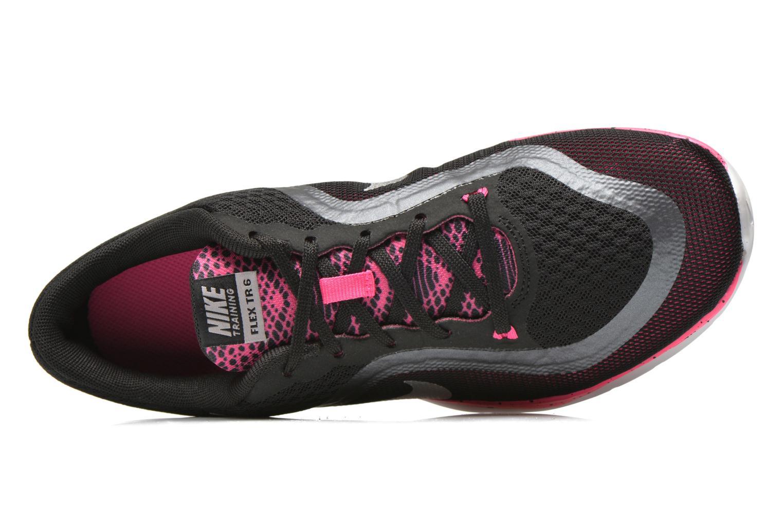 Chaussures de sport Nike Wmns Nike Flex Trainer 6 Bts Noir vue gauche