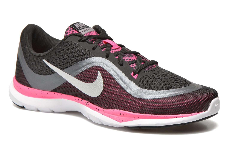Chaussures de sport Nike Wmns Nike Flex Trainer 6 Bts Noir vue détail/paire