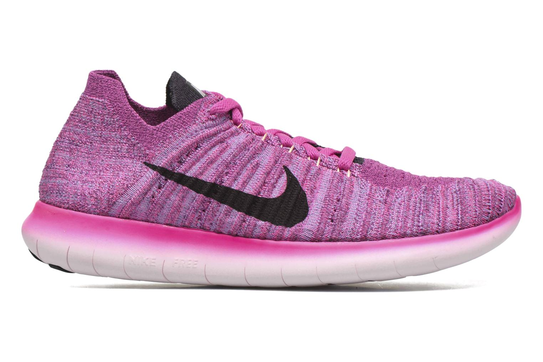 Chaussures de sport Nike Wmns Nike Free Rn Flyknit Rose vue derrière