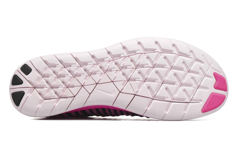 Chaussures de sport Nike Wmns Nike Free Rn Flyknit Rose vue haut