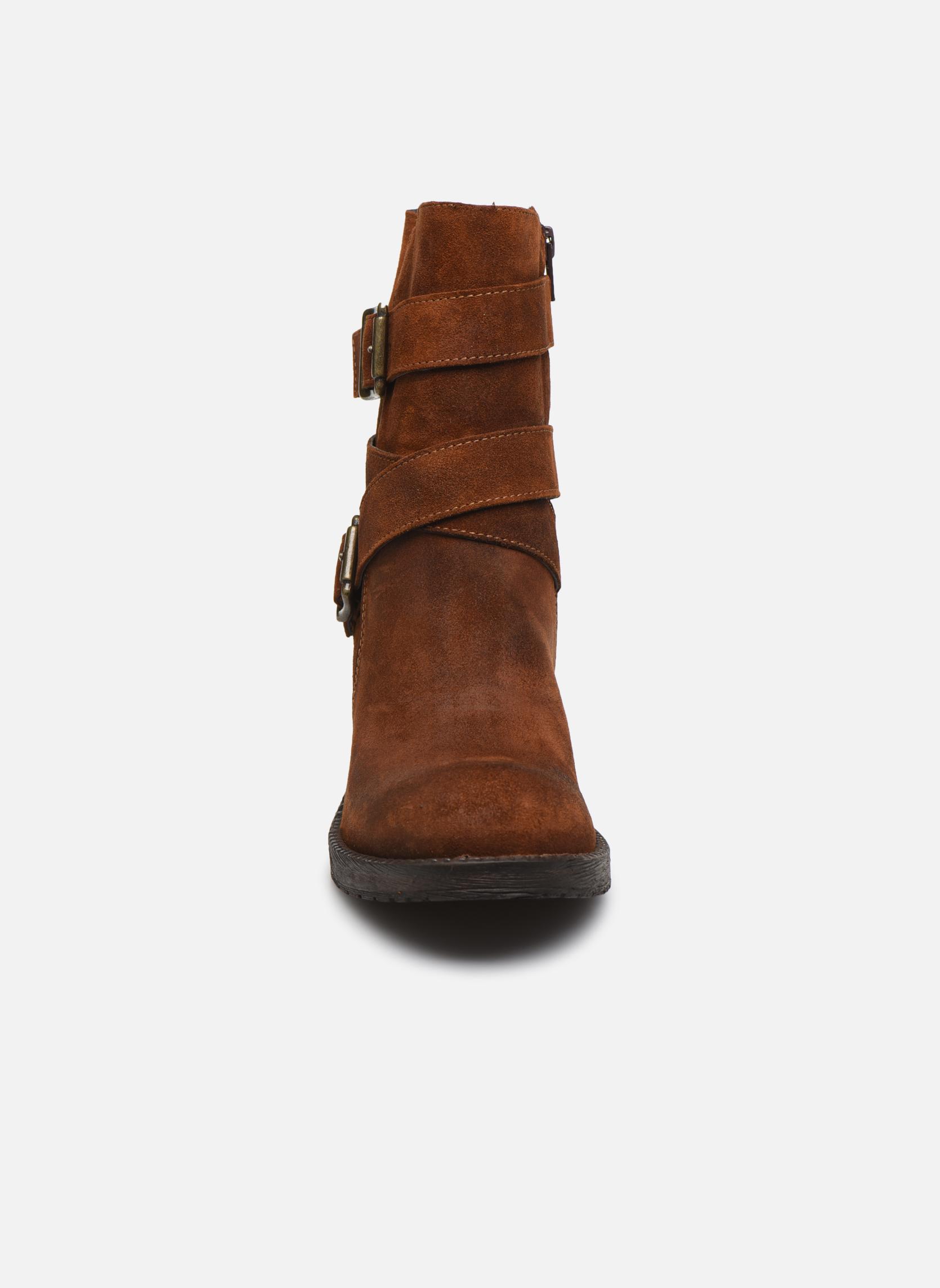 Ankle boots Sweet Lemon L.5.Escofi Black model view