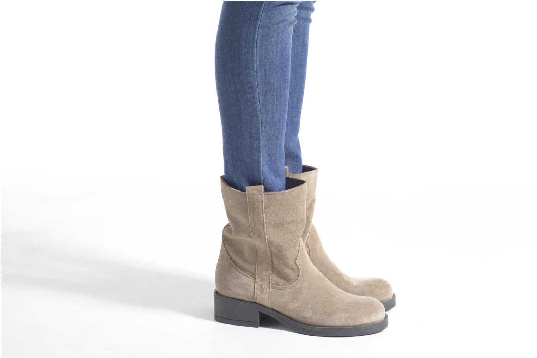 Ankle boots Sweet Lemon L.5.Entour Blue view from underneath / model view