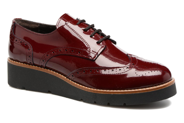 Chaussures à lacets Sweet Lemon L.27.Naboli Bordeaux vue détail/paire