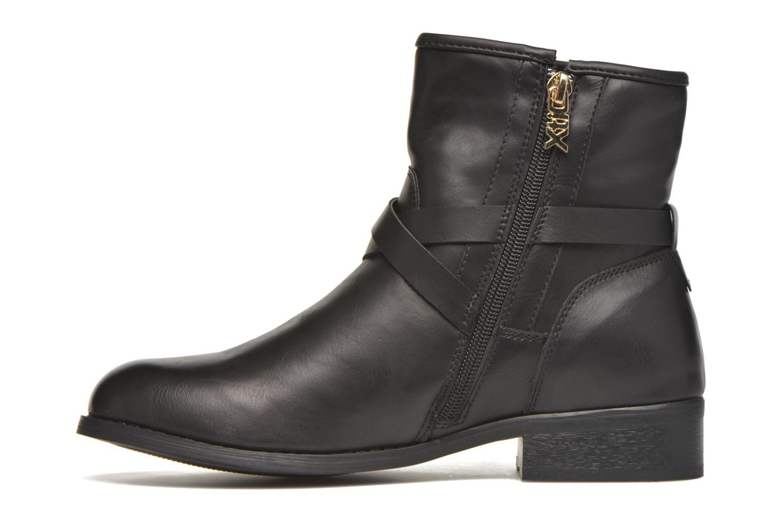 Bottines et boots Xti Snow-46149 Noir vue face