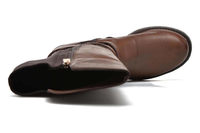 Stiefel Xti Allie-16186 braun ansicht von links