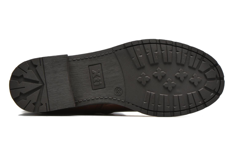 Stiefel Xti Allie-16186 braun ansicht von oben