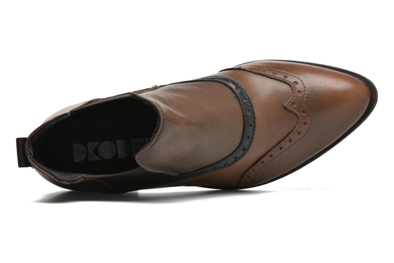 Bottines et boots Dkode Solvi Marron vue gauche