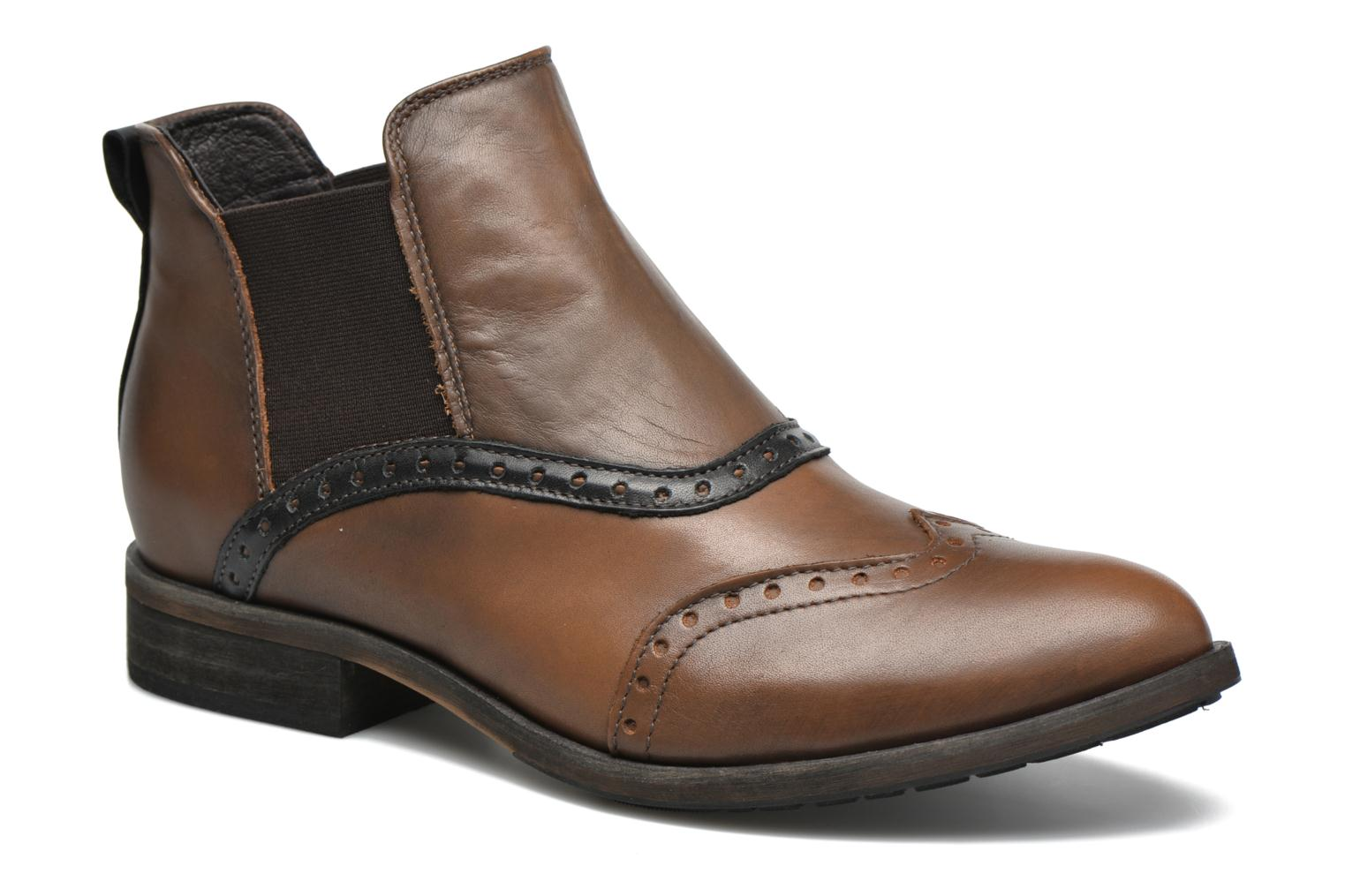 Ankle boots Dkode Solvi Brown detailed view/ Pair view