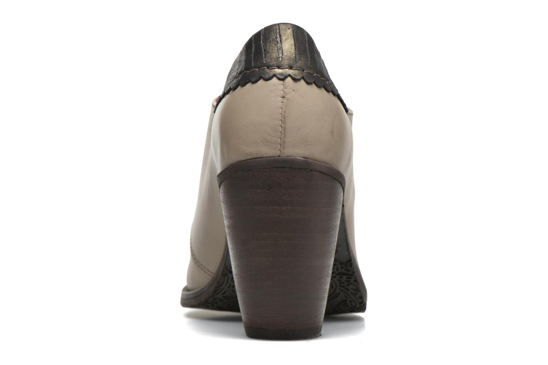 Chaussures à lacets Dkode Trixy Gris vue droite