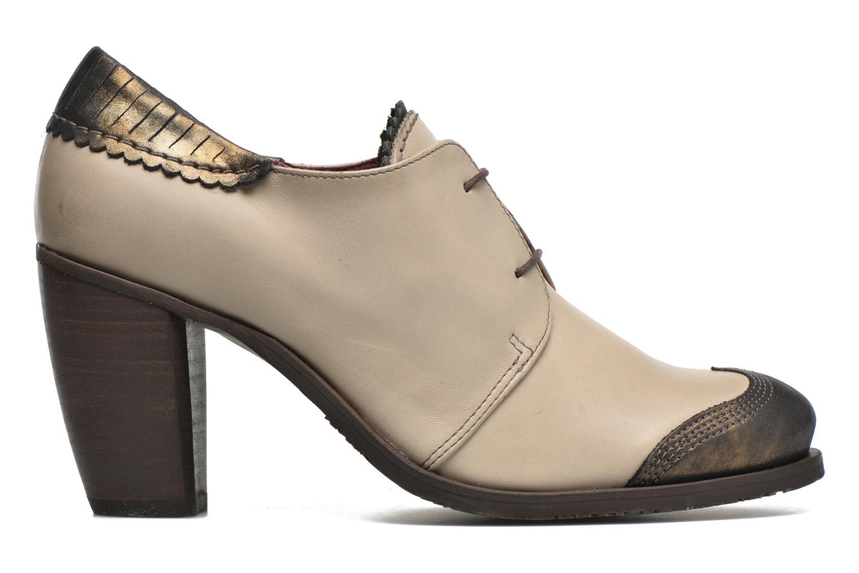 Chaussures à lacets Dkode Trixy Gris vue derrière