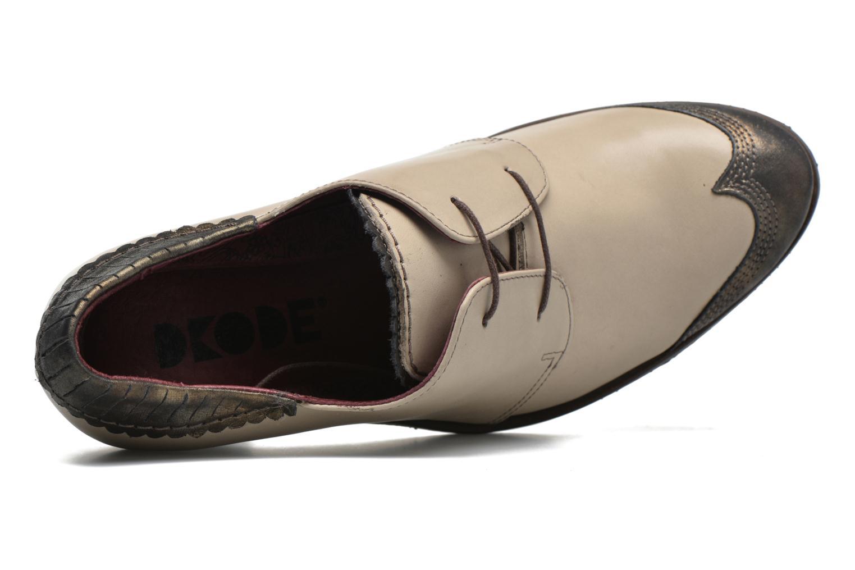 Chaussures à lacets Dkode Trixy Gris vue gauche