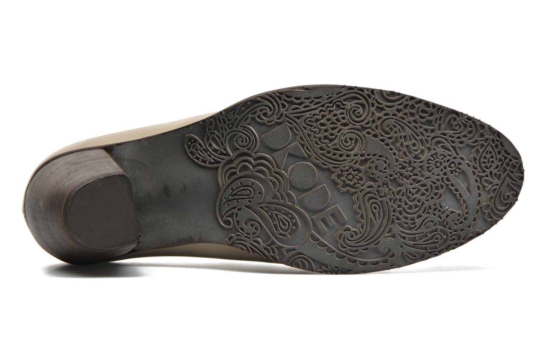Chaussures à lacets Dkode Trixy Gris vue haut