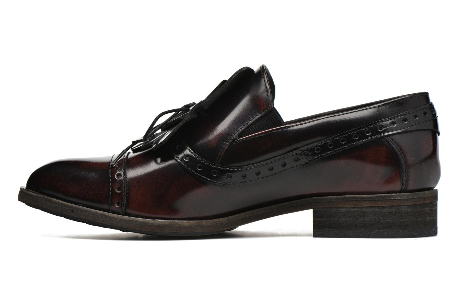 Loafers Dkode Sirian Red front view