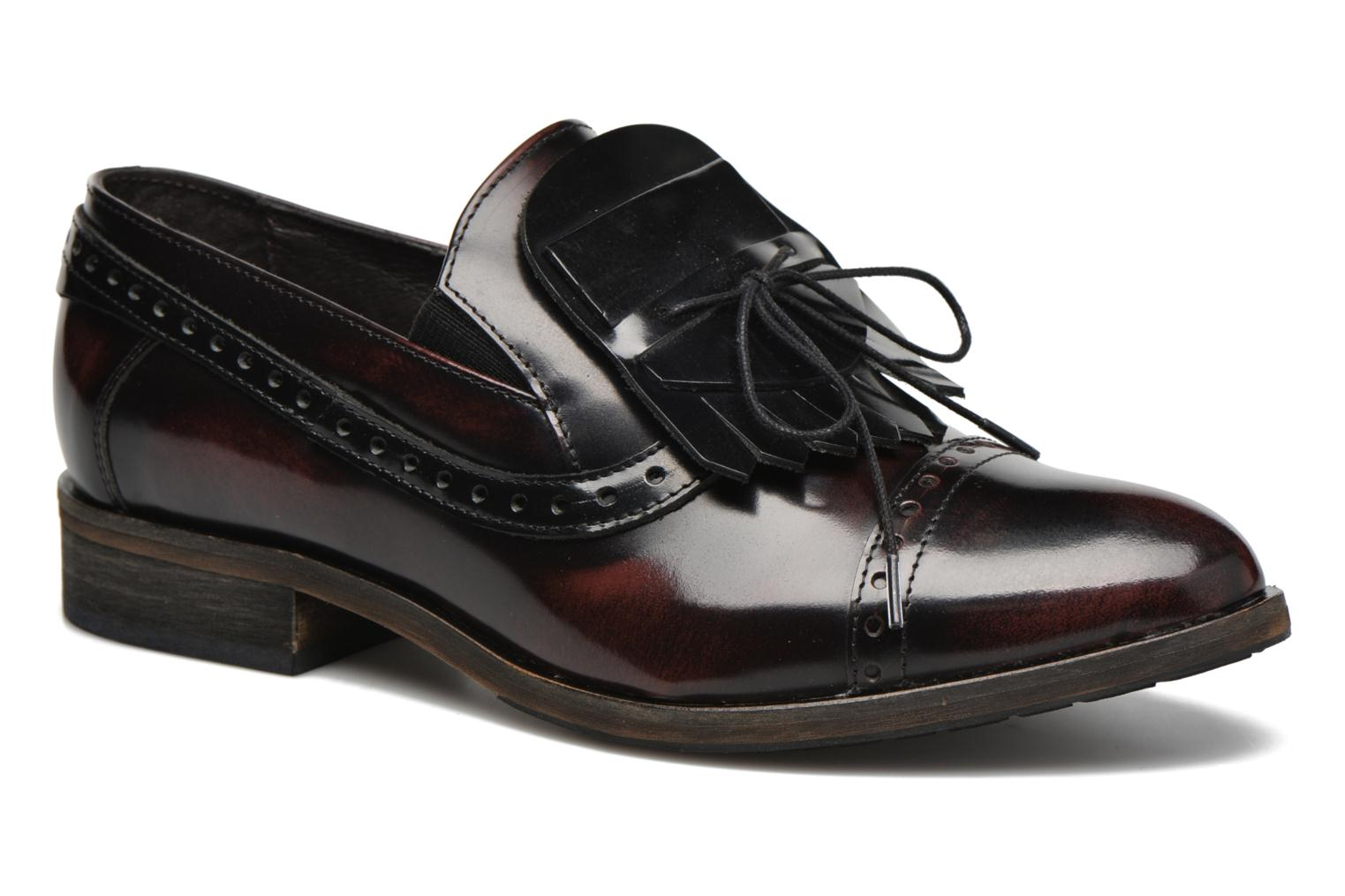 Loafers Dkode Sirian Red detailed view/ Pair view
