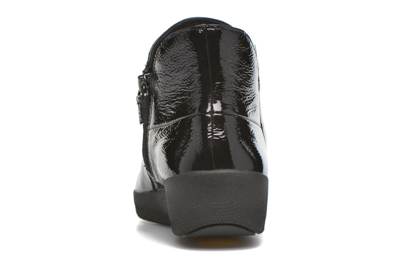 Bottines et boots FitFlop Supermod Leather Ankle Boots Noir vue droite
