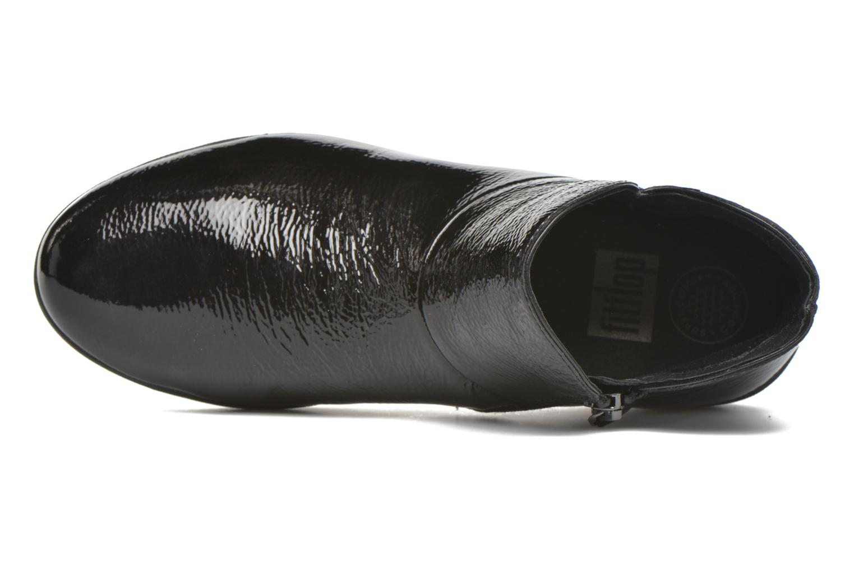 Bottines et boots FitFlop Supermod Leather Ankle Boots Noir vue gauche
