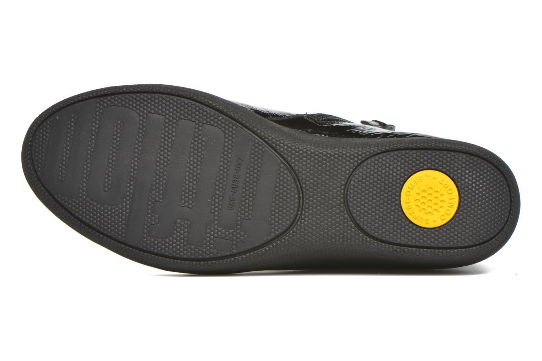 Bottines et boots FitFlop Supermod Leather Ankle Boots Noir vue haut