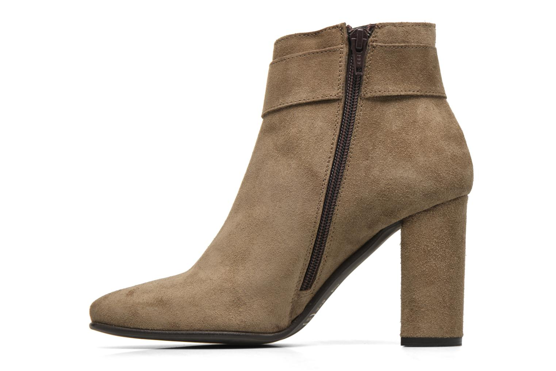 Bottines et boots Georgia Rose Mabouk Beige vue face