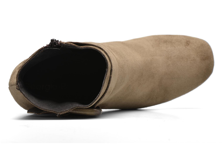 Stiefeletten & Boots Georgia Rose Mabouk beige ansicht von links