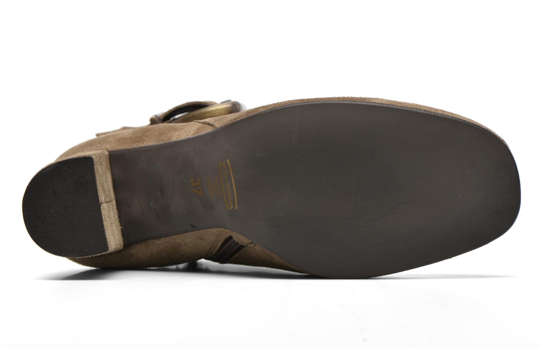 Bottines et boots Georgia Rose Mabouk Beige vue haut