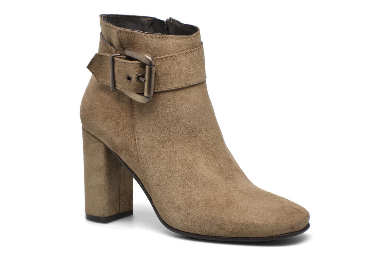 Bottines et boots Georgia Rose Mabouk Beige vue détail/paire
