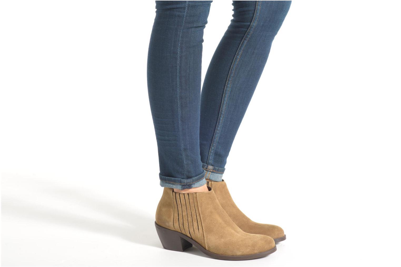 Stiefeletten & Boots Georgia Rose Matiag beige ansicht von unten / tasche getragen