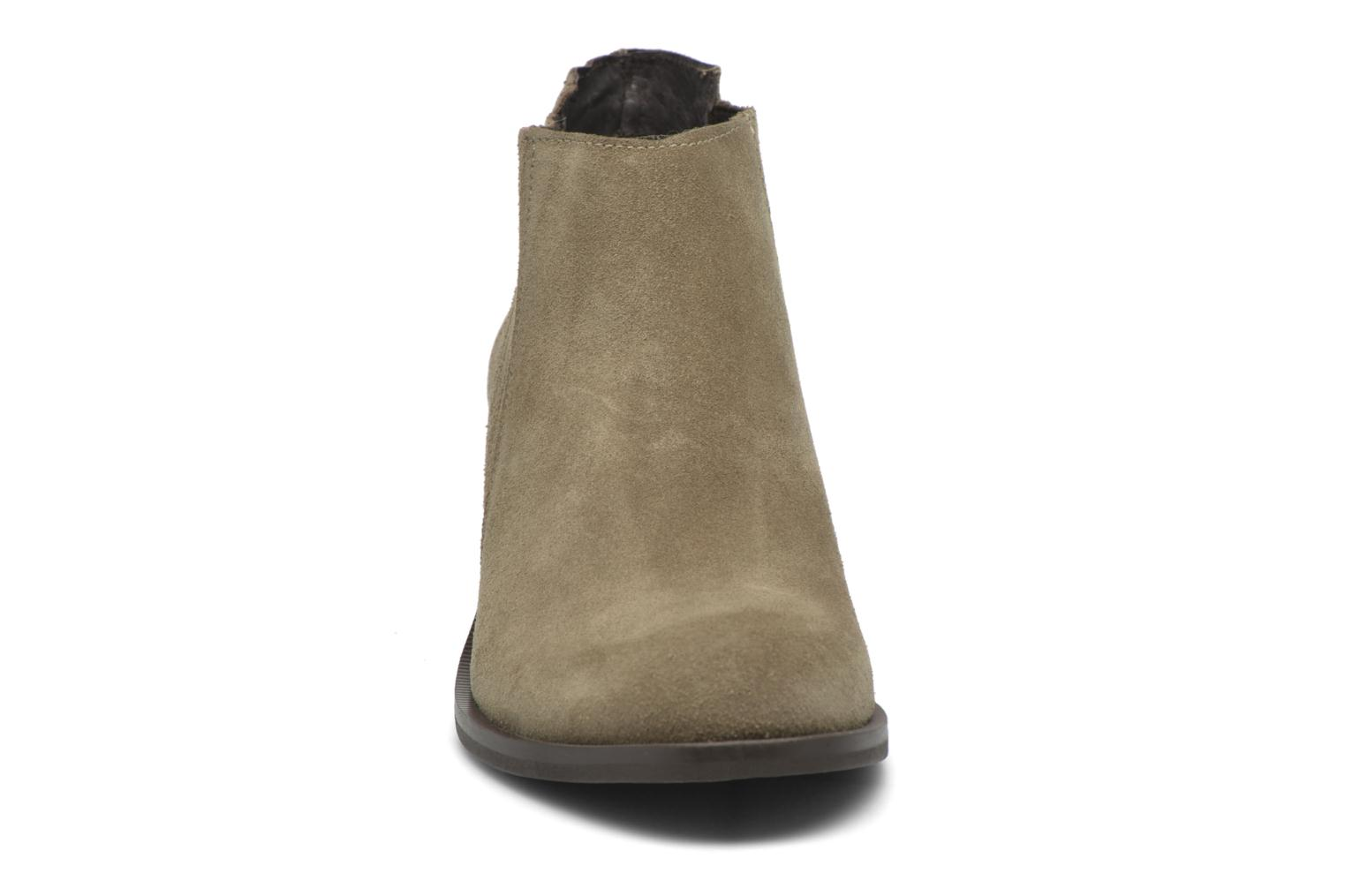 Ankle boots Georgia Rose Matiag Beige model view