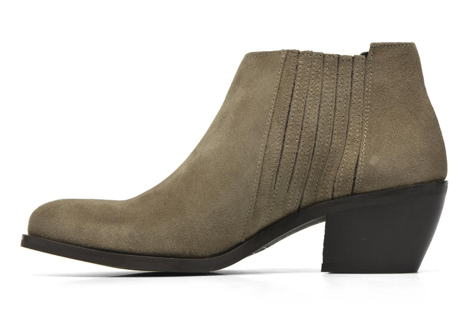 Ankle boots Georgia Rose Matiag Beige front view